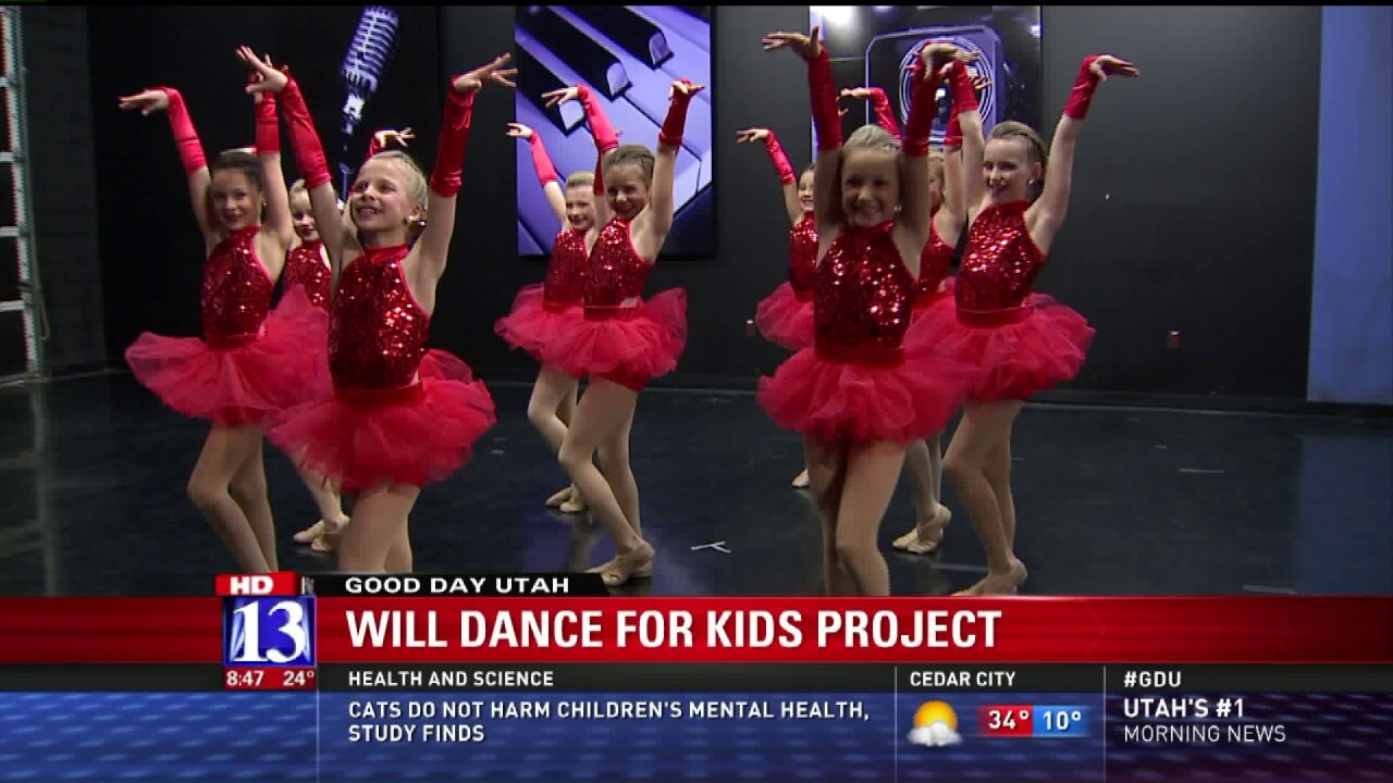 Kids raise funds by dancing for Utah FoodBank