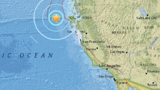Strong earthquakes shake Northern California's Humboldt County