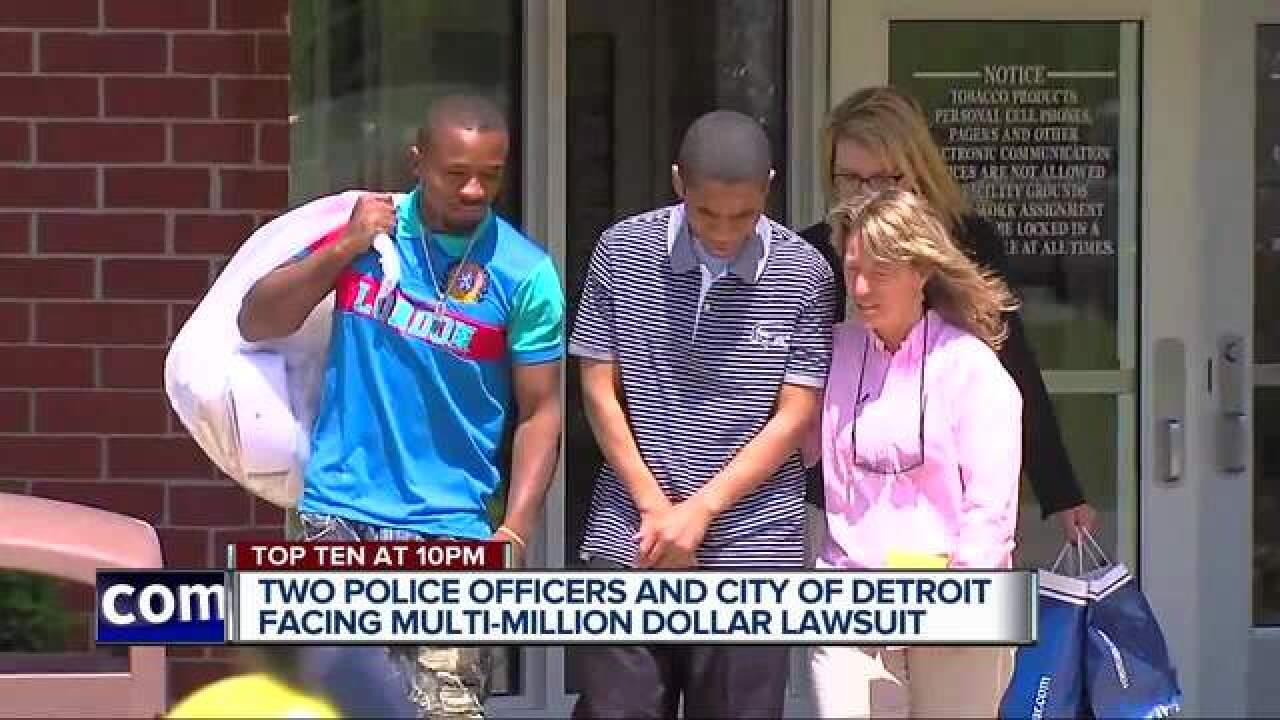 Wrongfully convicted man sues Detroit & officers