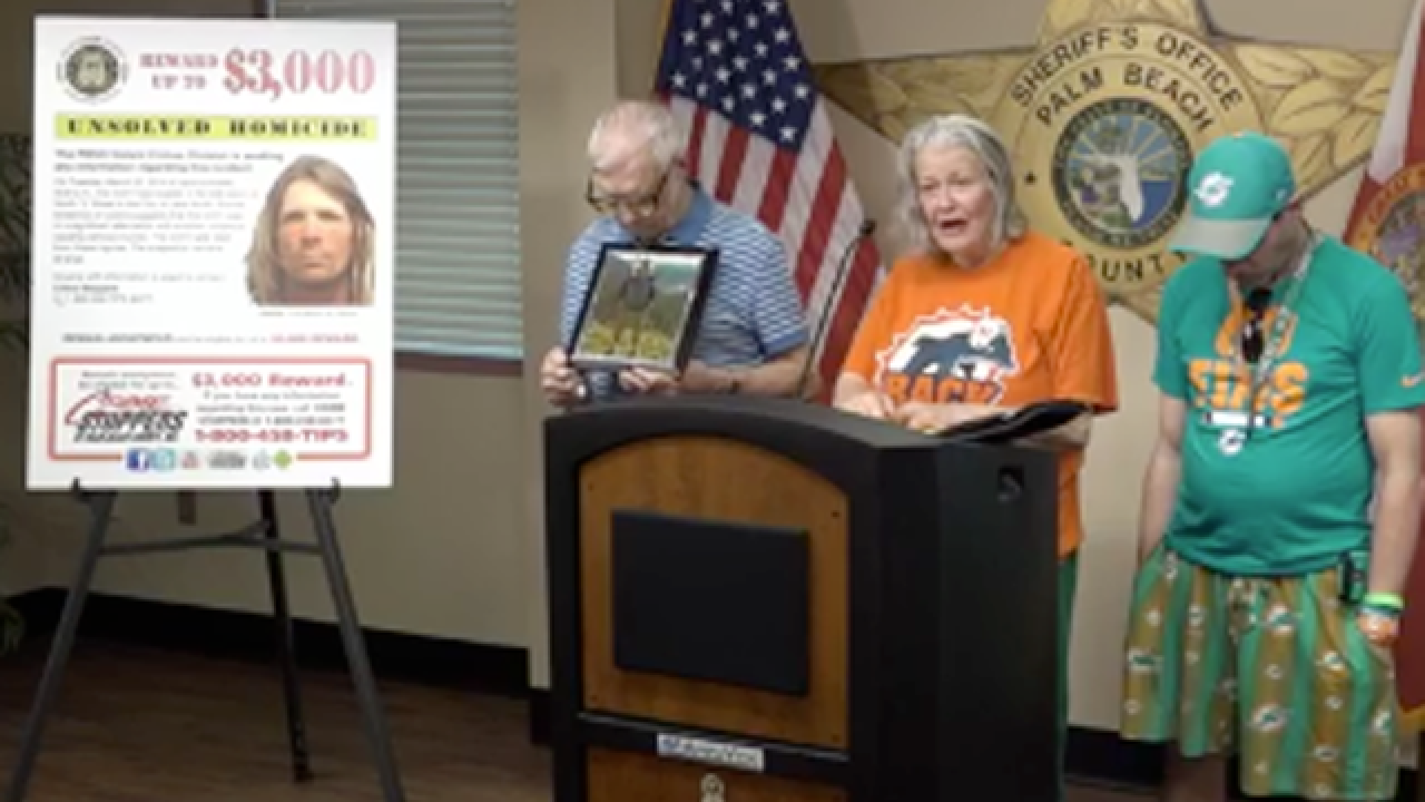 Family, PBSO seek to solve cold case