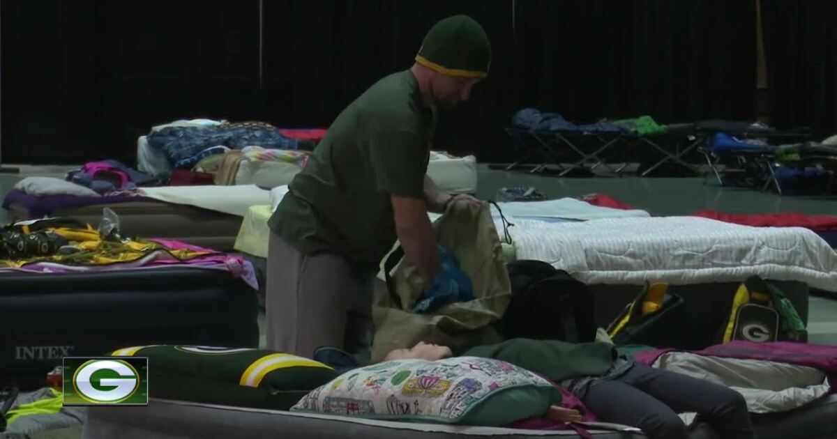 First-ever Packers Pajama Party at Lambeau