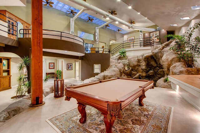 Rob Quigley-designed home features indoor waterfall