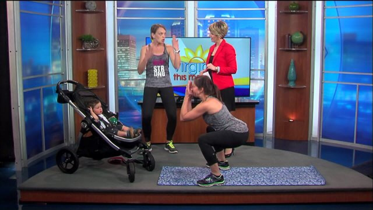 This baby-friendly fitness routine is a must-try for newmoms
