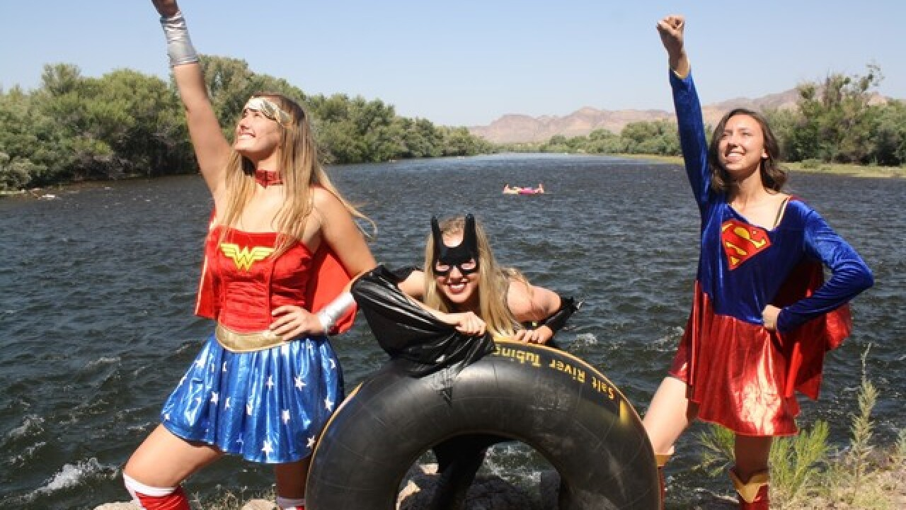 Float the Salt River with your favorite heroes