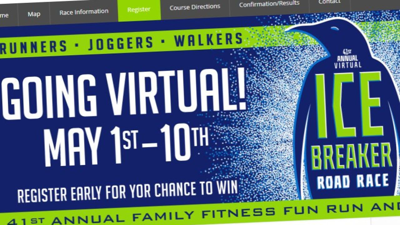 Ice Breaker race in Great Falls will be virtual this year
