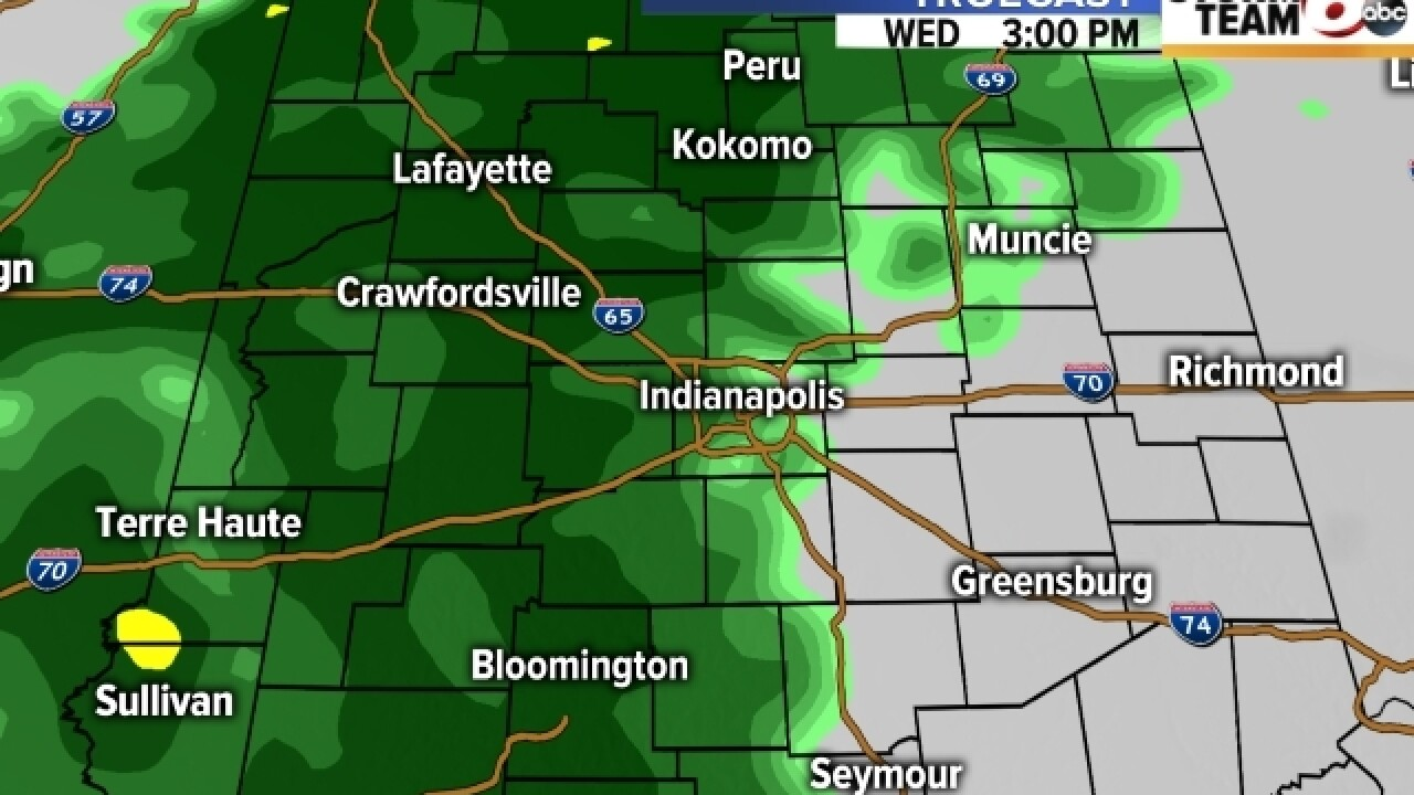 TIMELINE: See when rain will hit your area