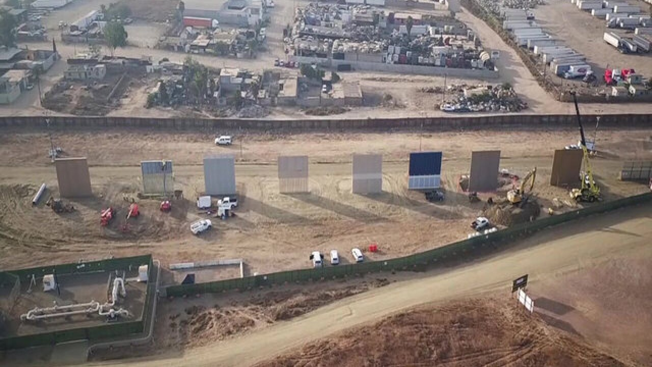 Customs and Border Protection details reasons for San Diego border wall testing