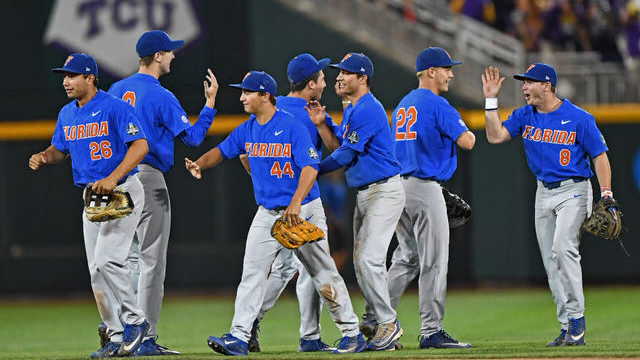 FINAL: Florida wins first College World Series Championship in school history
