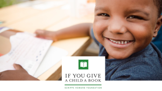 If You Give a Child a Book' campaign
