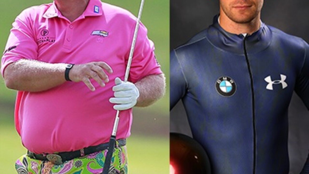 Olympic sized mix-up between John Daly, John Daly