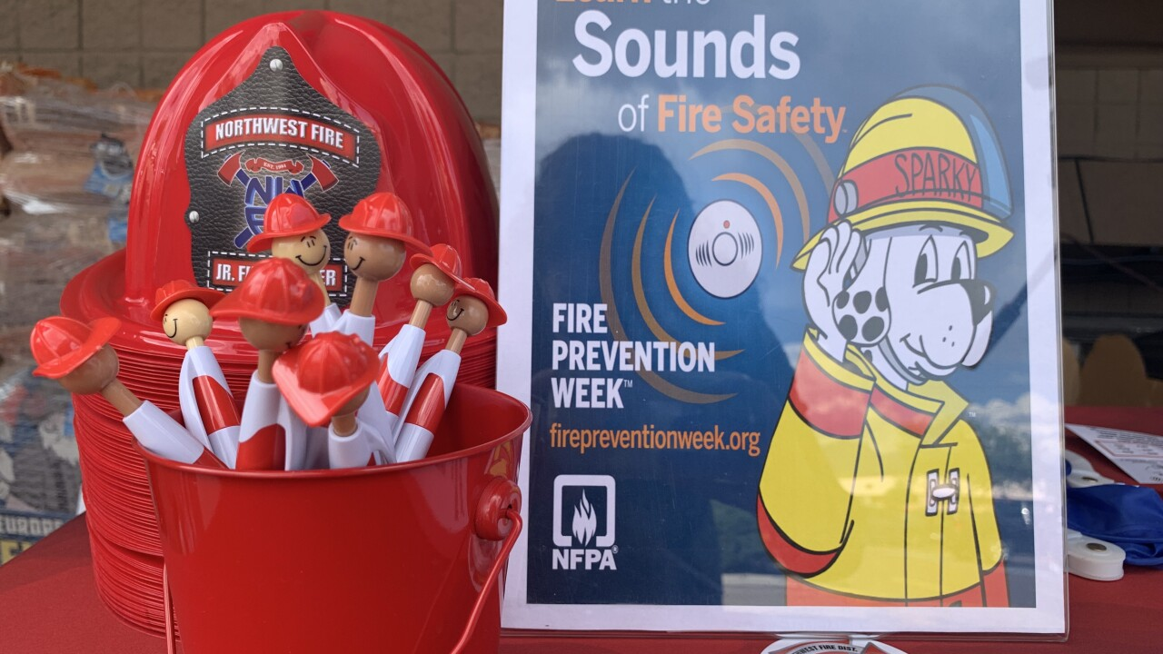 Sounds of fire safety