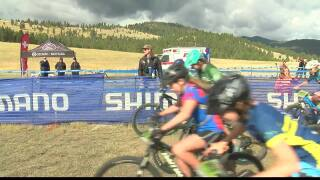 170 kids competed in a mountain bike race in Lolo