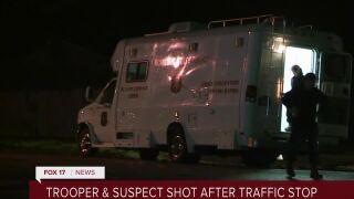 MSP trooper shot in Niles