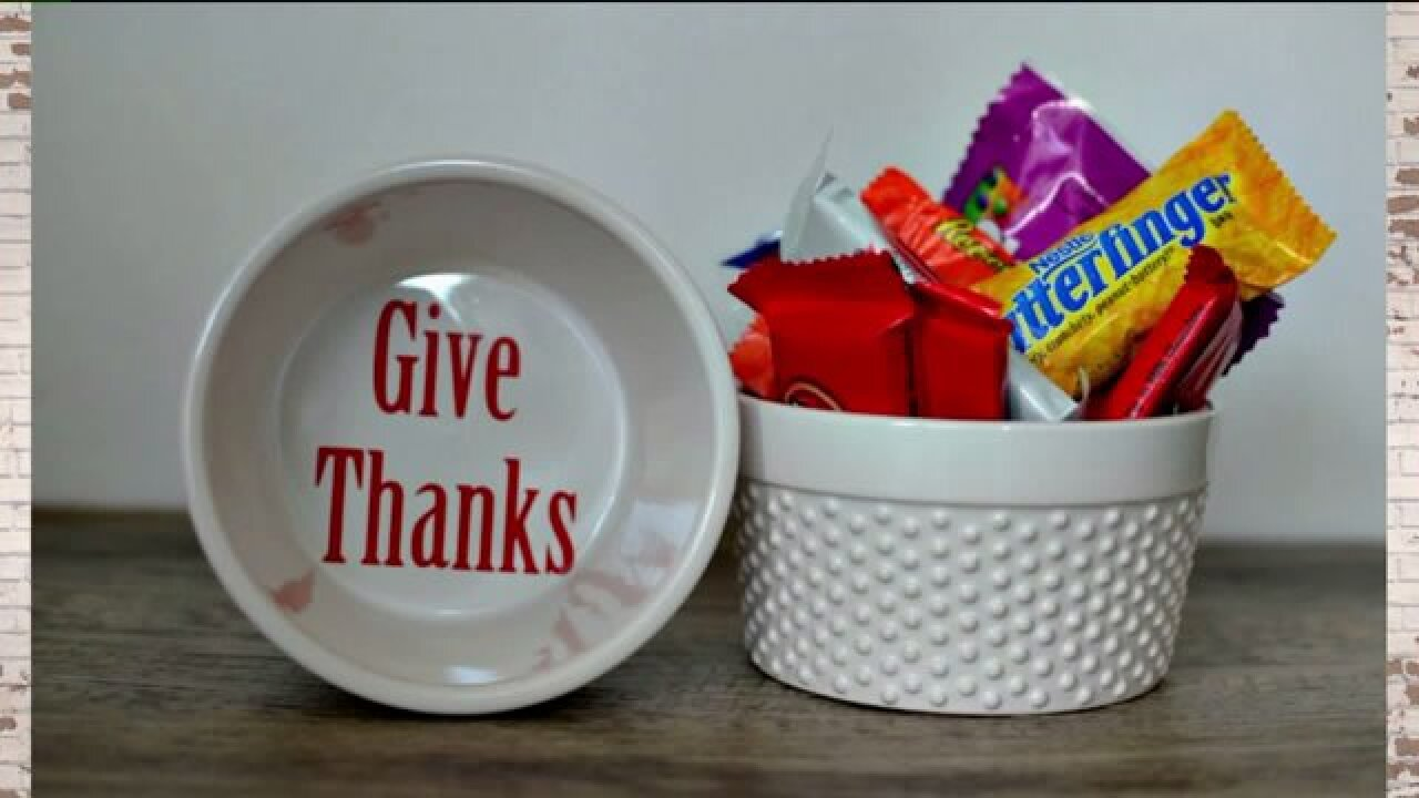 Copycat Pottery Barn projects for Thanksgiving