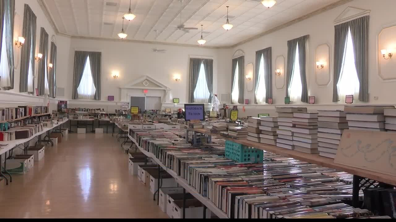 Fort Missoula Book Sale