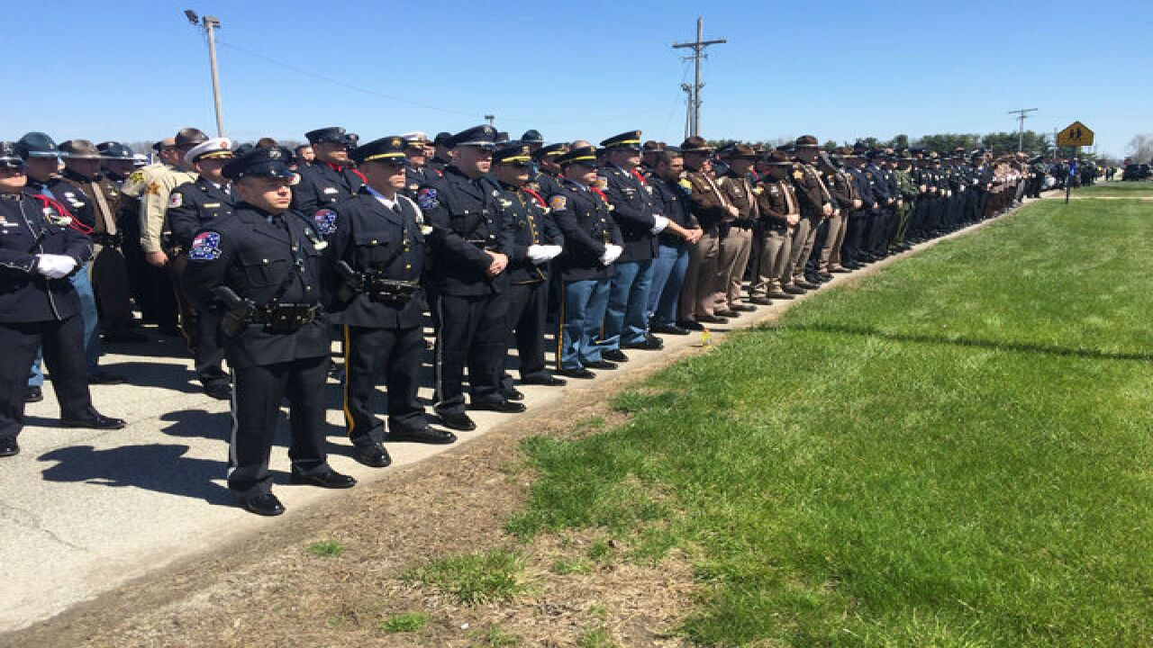 PHOTOS: Deputy Carl Koontz laid to rest