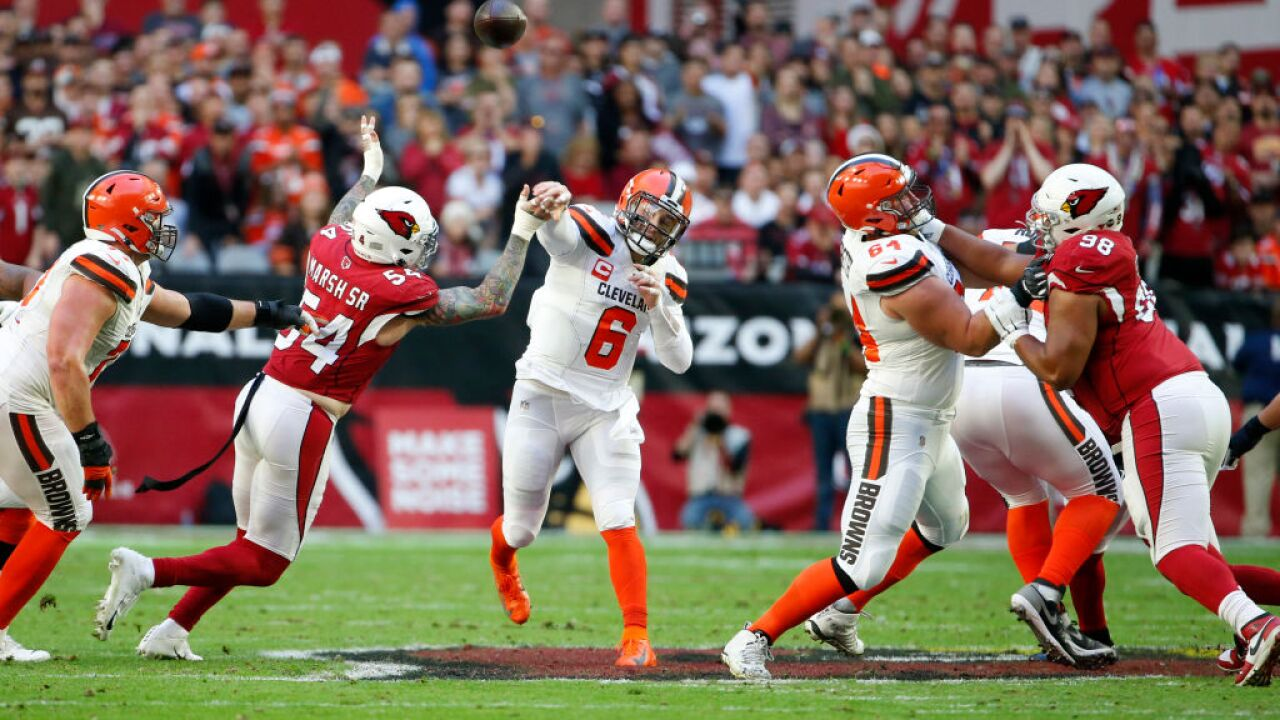 Cleveland Browns v Arizona Cardinals