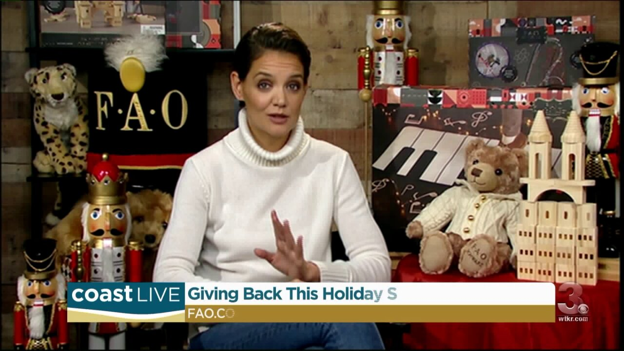 We talk toys with actress Katie Holmes on Coast Live