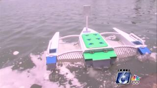 TAMUCC students develop a robot to clean the ocean