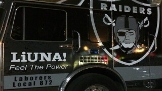 Party celebrates Raiders move to Las Vegas