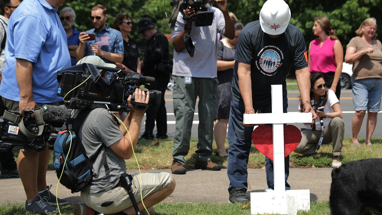 After making nearly 27,000 crosses to honor victims of mass shootings, Greg Zanis moves on