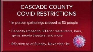 Cascade County Board of Health tightens some COVID-19 restrictions