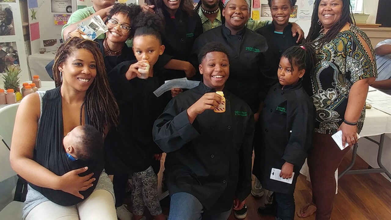A small 'Shark Tank' teaches kids at Avondale