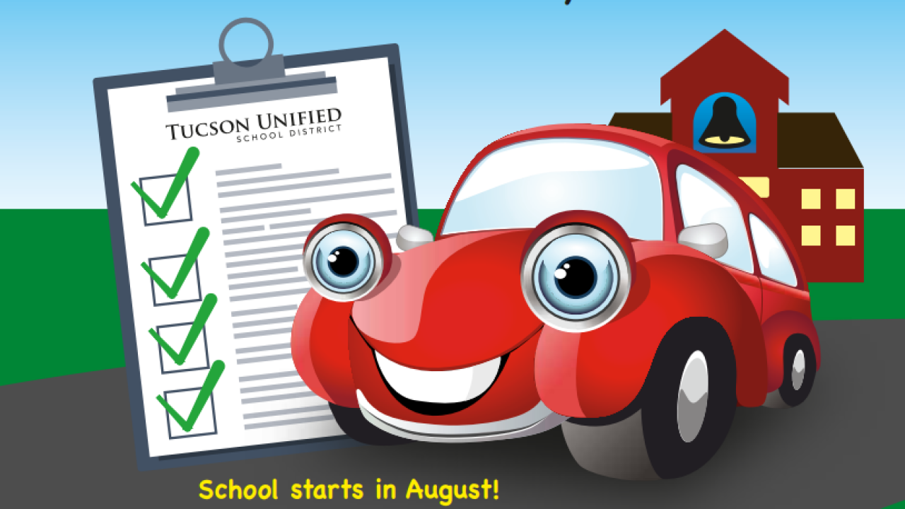 TUSD Drive-thru Registration days