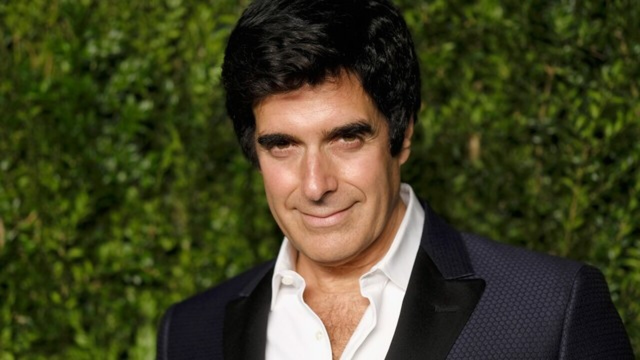 Man blames David Copperfield for brain injury