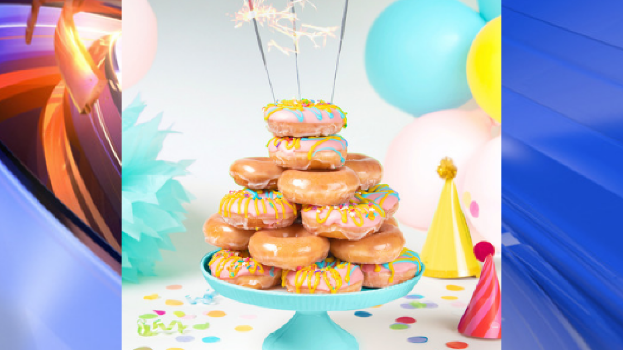 Krispy Kreme celebrates 82nd birthday with deals, new doughnut flavor