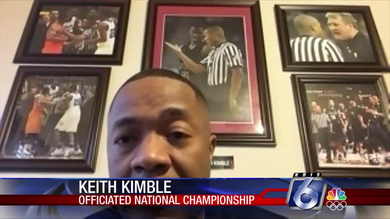 Texas A&M-Kingsville alum referees championship game