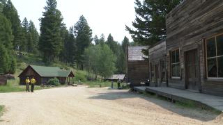 Garnet Ghost Town in Montana