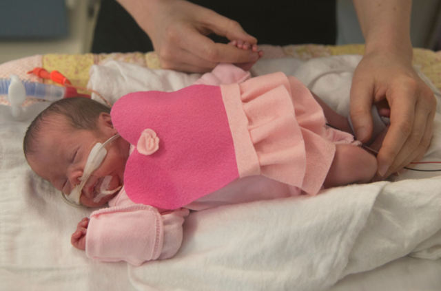 PHOTOS: Royal Oak Beaumont NICU babies are dressed up for Halloween