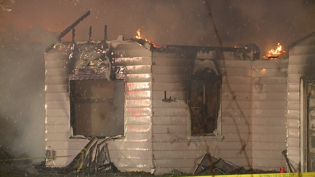 Fire completely destroys Willoughby home