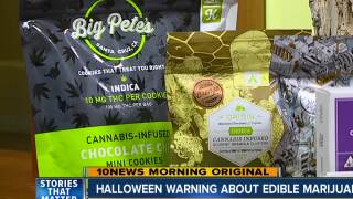 Doctors warn parents about marijuana confused for Halloween candy
