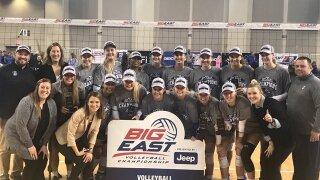 Creighton volleyball team wins 5th straight BIG EAST championship