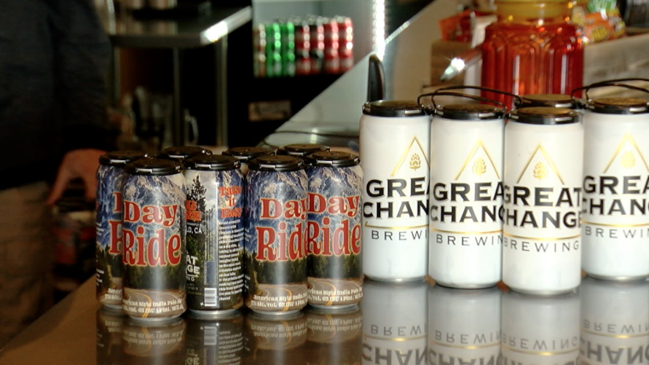 Great Change Brewing