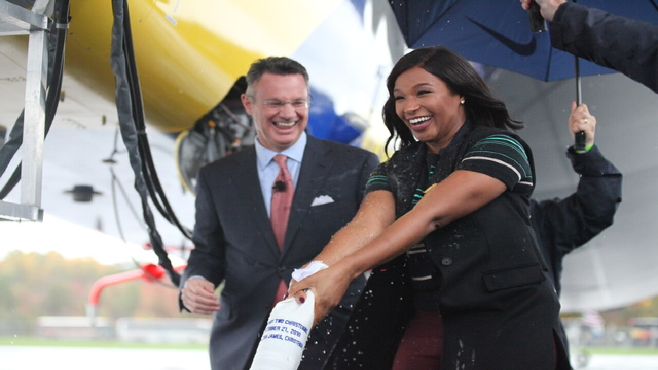 PHOTOS Goodyear AirShip WingFoot Two Christening