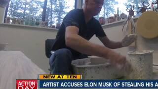 Elon Musk acussed of stealing 'Farting Unicorn' design from Colorado potter