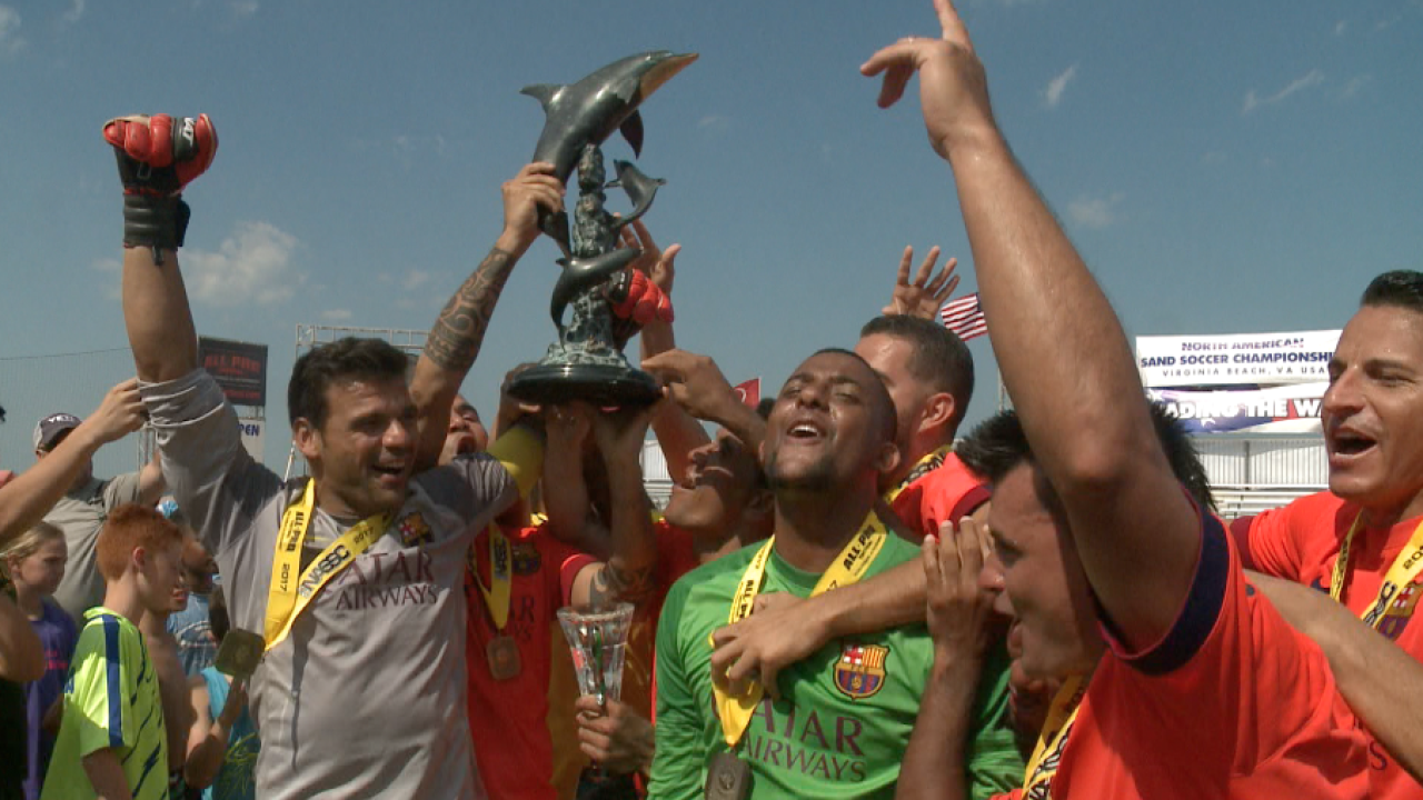 FC Barcelona claims U.S. Open title at North American Sand SoccerChampionships