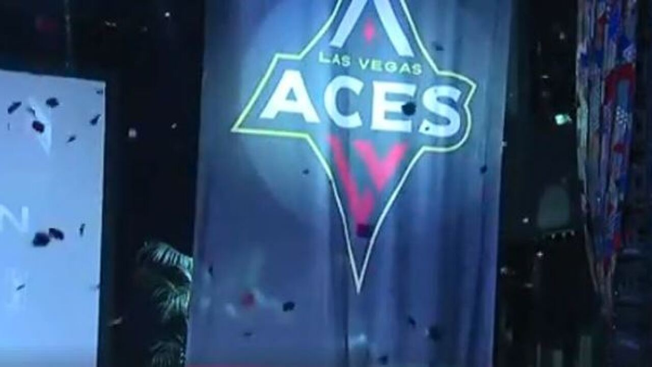 Las Vegas Aces with No. 1 pick in WNBA draft