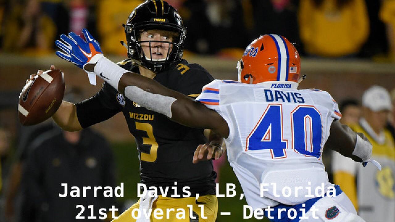 NFL Draft: Picks 1 through 32