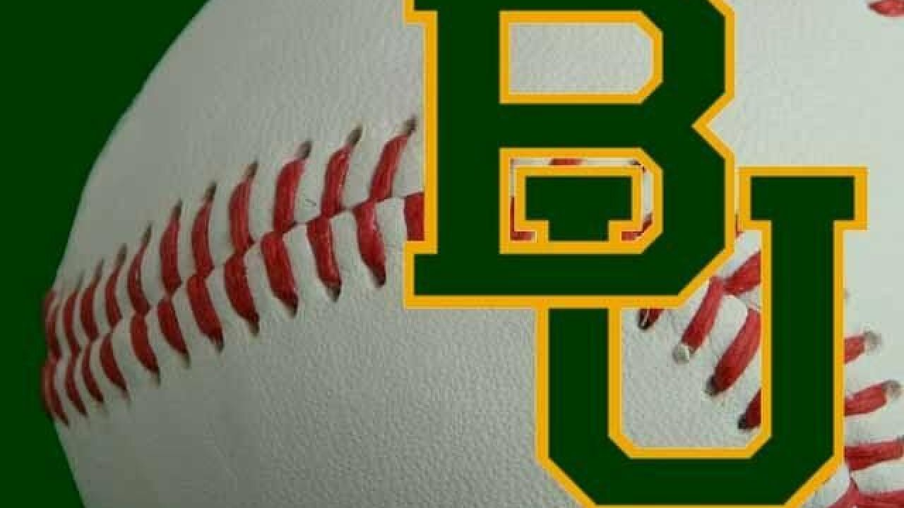 Baylor Baseball Faces Weekend Road Test at No. 6 Texas Tech