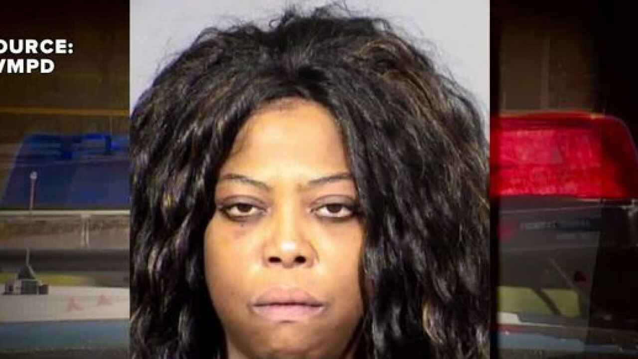 Car hits victim at Regional Justice Center