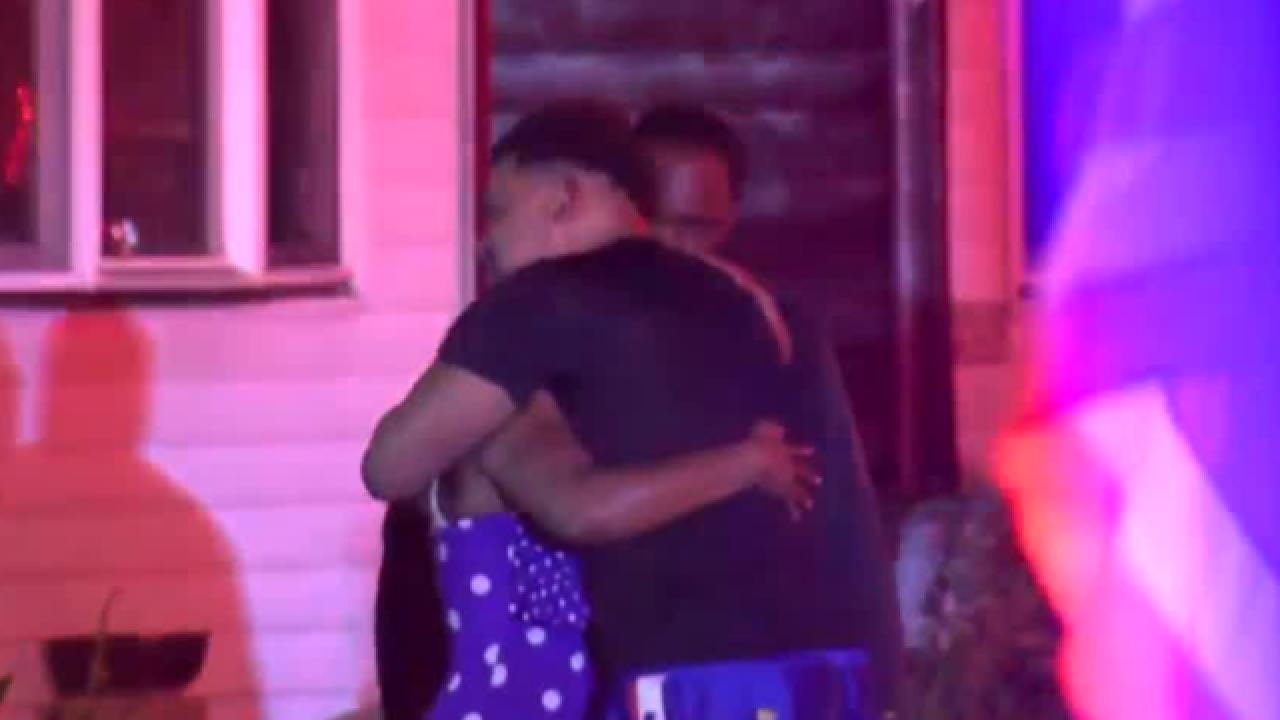 Neighborhood heartbroken after death of child