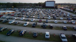 With movie theaters closed due to COVID-19 concerns, Americans flock to drive-ins