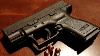 File photo Handgun pistol gun bullets stock generic image.jpg