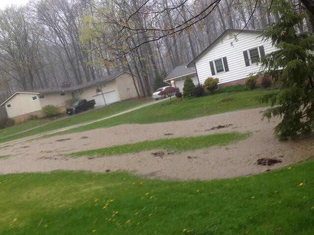 PHOTOS: Severe flooding strikes Northeast Ohio