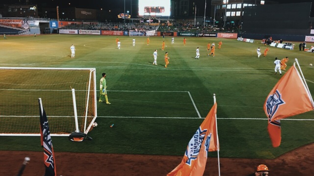 Watch 2 Win four tickets to Tulsa Roughnecks soccer game May 9 at ONEOK Field