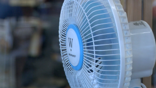 Fan to keep cool indoors